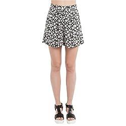 SbuyS - Black Floral Printed Shorts