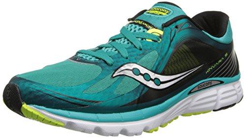 Saucony Men's Kinvara 5 Running Shoe,Teal/Citron,9 M US (Kinvara 2 compare prices)