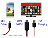 CyberTech 6.5 feet USB cable MHL (Micro USB) to HDMI cable Samsung Galaxy Nexus, Galaxy S2, Galaxy Note, Infuse 4G, HTC Evo 3D, EVO view 4G, Flyer , Sensation 4G, Epic 4G Touch, Rezound, Vivid, Amaze 4G (HD-X2)