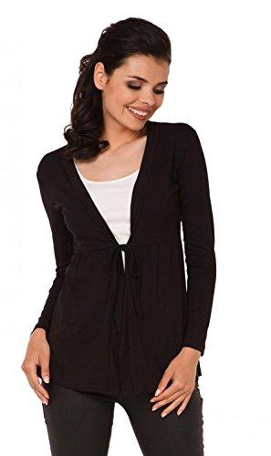 zeta-ville-cardigan-giacca-con-drappeggi-apertura-frontale-donna-286z-nero-it-42-44-l