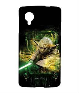 Furious Yoda Phone Cover for LG Nexus 5 by Block Print Company