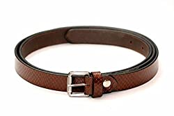 Tops 20mm Brown Leather Belt