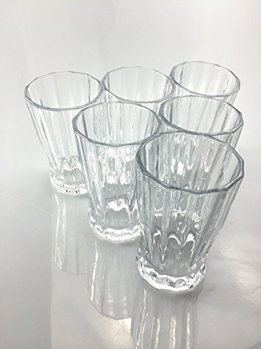 Riimax Beverage Glasses 10-Ounce Set of 6 (Name Brand Beer Tap Handles compare prices)