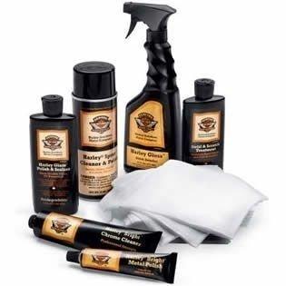 Harley-Davidson? Detailing Kit. Gloss, Polish, Cleaner, Swirl Treatment, Softcloths. HD 94702-09