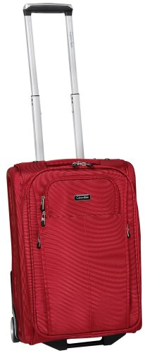 Calvin Klein Luggage Amagansett Upright, Brick, 21 inch special discount