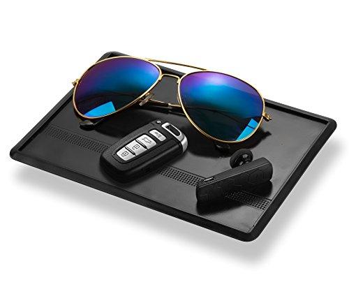 easylifecare-anti-slip-car-dash-grip-pad-for-cell-phone-keychains-sun-glasses-black