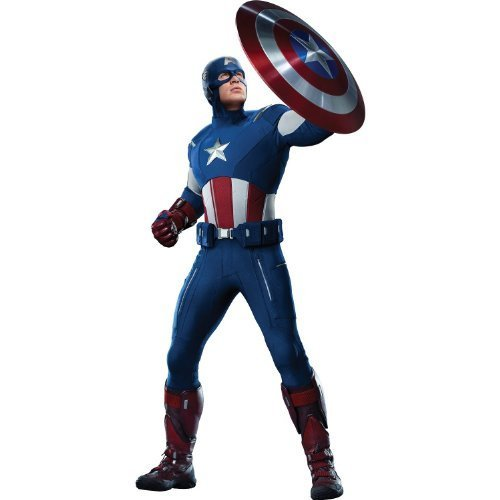 "24"" Captain America #4 Avengers ... Wall Graphic Decal Sticker Home Kids Game Room Decor New !!"