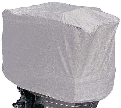 Leader Accessories Shore Guard Polyester Waterproof Outboard Motor Hood Cover, 25-50HP, 23