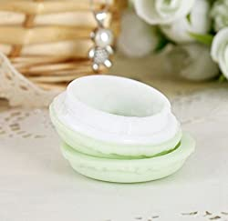 Portable Candy Color Mini Cute Macarons Storage Box For Jewelry Earring Boxes Un