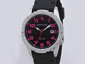 Rip Curl Women's Quartz Watch CORTEZ PU A2486G_90 with Plastic Strap