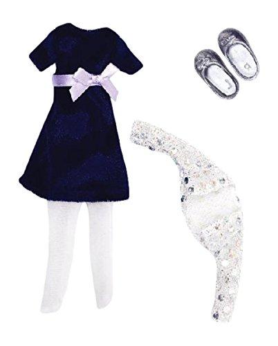 Lottie Blue Velvet Doll Outfit - 1