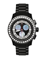 Aqua Master Men's Masterpiece Diamond Watch with Diamond Bezel, 8.00 ctw