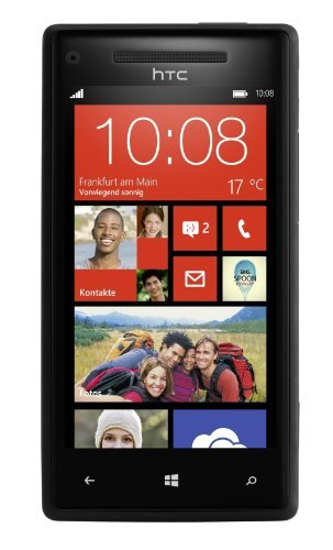 "Htc 8X C625B 16Gb Unlocked Gsm Phone With Windows 8 Os, 4.3"" Hd Display, 8Mp Camera, 1.5 Ghz Qualcomm Dual-Core Processor, Beats Audio, Gps, Wi-Fi And Bluetooth - Black"