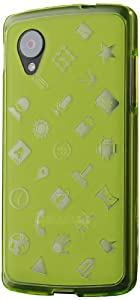 Nexus 5 Case, Cruzerlite Experience TPU Case (EXP Case) Compatible for LG Nexus 5 - Green