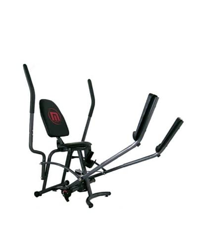 MASH FORM Banco Ejercicios T.B.B. (Total Body Bench) Plata / Negro