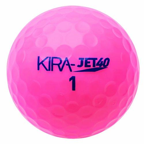 キャスコ(Kasco) KIRA JET 40 [1ダース]  ピンク