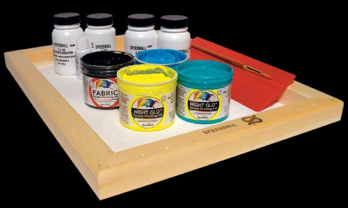 Speedball Glo 'n Dark Screen Printing Kit