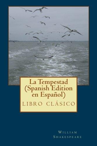 La Tempestad (Spanish Edition): clásico de la literatura de Shakespeare ,libros en español