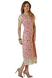 Choice Fashion Women Western pink lips dress