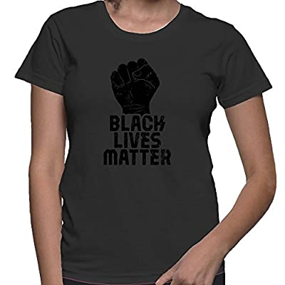 HAASE UNLIMITED Womens Black Lives Matter T-shirt