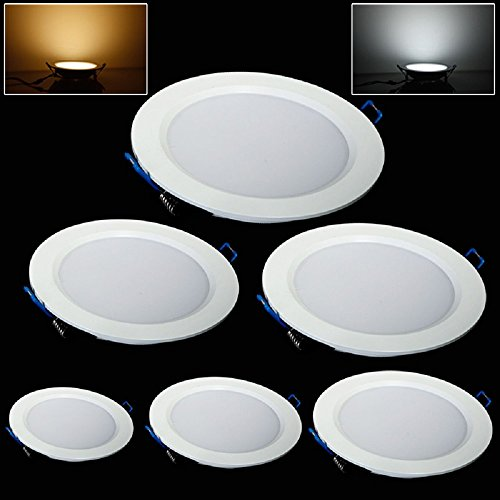 Gled Fashion 5W Led Ceiling Light Panel Light (Cool White, 5W (Dimmable))