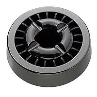 煙の出ない灰皿 ノンレット21 5個 ガンメタ 8374am