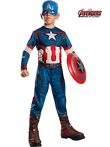 Avengers 2 Captain America Costume for Kids