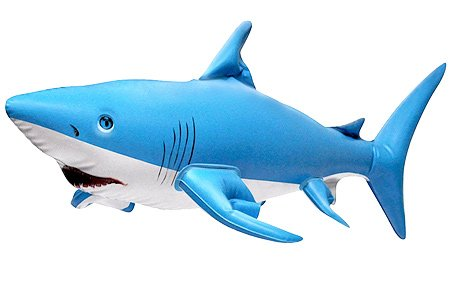 "24"" L Inflatable Shark Ocean Life Animal Zoo"