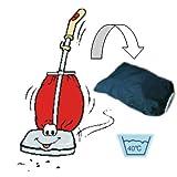 Bolsa para aspiradora de tela con cremallera, lavable