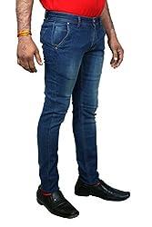 Jctex Men's Slim Fit Jeans(venus downtown32_Blue_32)