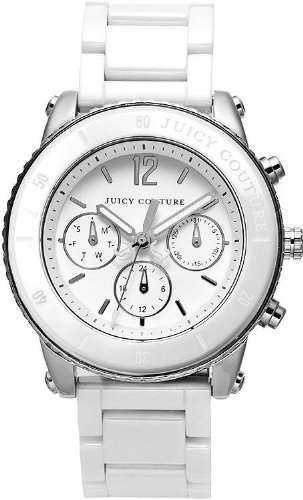 Juicy Couture Women's 1900878 Pedigree White Ceramic Bracelet Watch