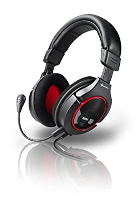 Sharkoon X-Tatic SR Gaming Headset with Dolby Headphone Technology for XBOX 360/PS3/PC