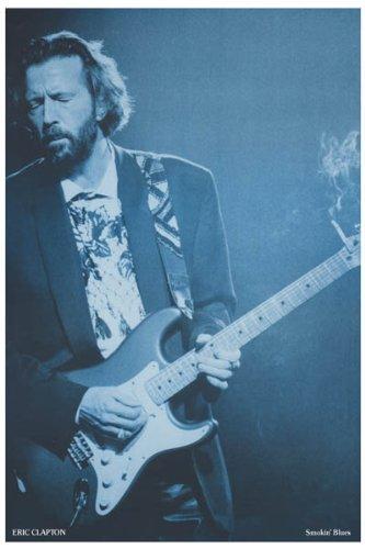 Galleon - Eric Clapton - Smokinu0026#39; Blues - Slow Hand 11x17 Poster