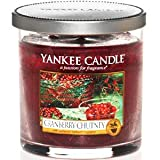 Yankee Candle Scented Glass Tumbler (Cranberry Chutney)