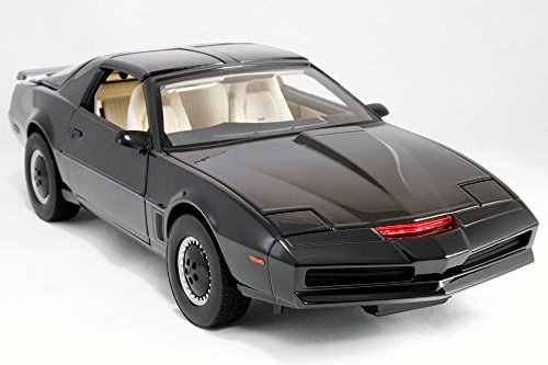 Knight Rider KITT Knight Industries Two Thousand T-Top, Black - Mattel BLY60 - 1/18 Scale Diecast Model Toy Car (Knight Rider Car compare prices)
