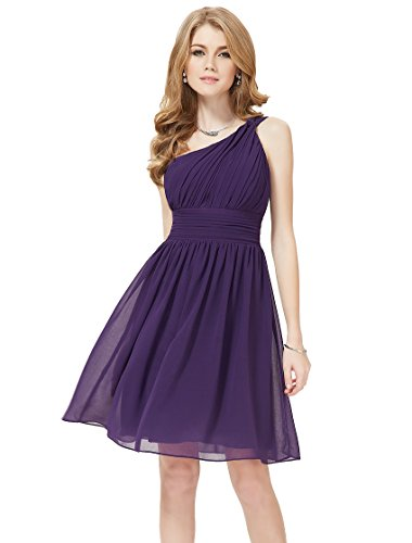 he05109pp14 purple 12us ever pretty knee length dresses