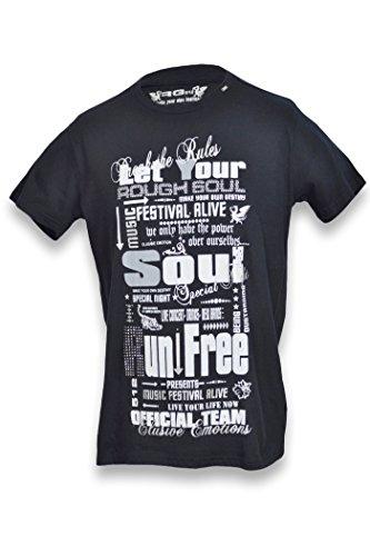 RG 512 -  T-shirt - Uomo nero Large
