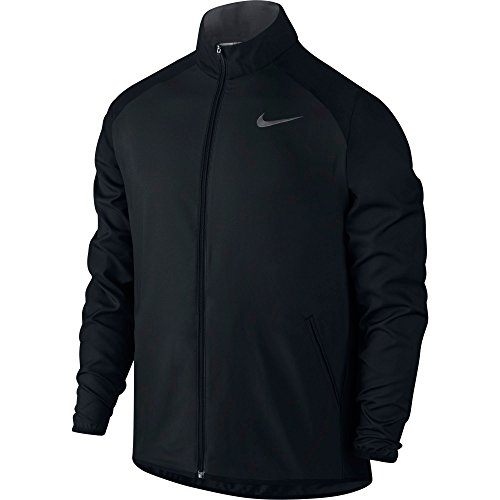 New Nike Men's Dry Team Training Jacket Black/Dk Grey/Dk Grey X-Large