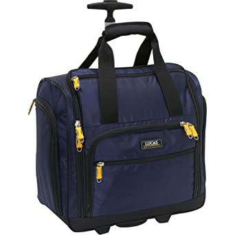 LUCAS Wheeled Under the Seat Cabin Bag EXCLUSIVE (Blue)