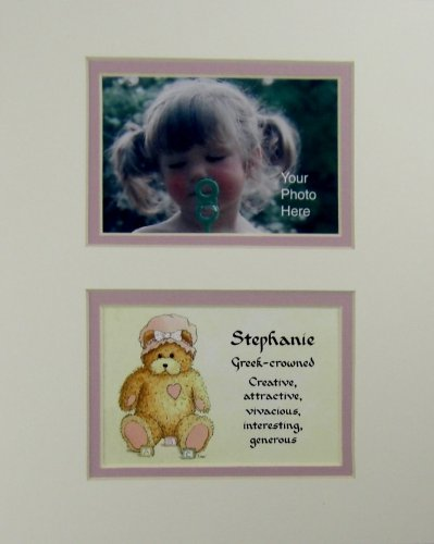 Personalized Baby Name Stephanie Nursery Wall Decor Keepsake Gift Made In The Usa