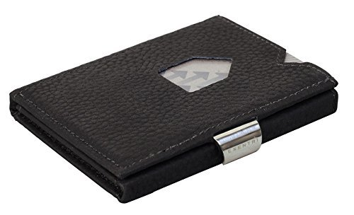Exentri Wallet Black Structure