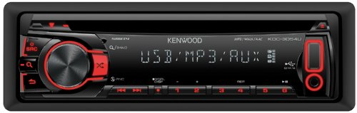 Kenwood KDC-3054UR Autoradio (CD/MP3-Tuner, USB