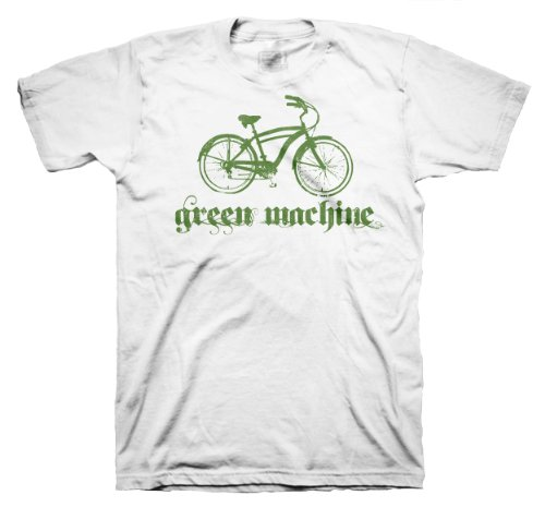 Men's Recycled Polyester Cycling / Bike to Work T-Shirt - Medium