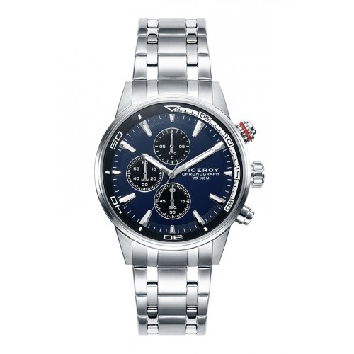Regarder Viceroy 46685-37 Chronographe Steel Blue Man