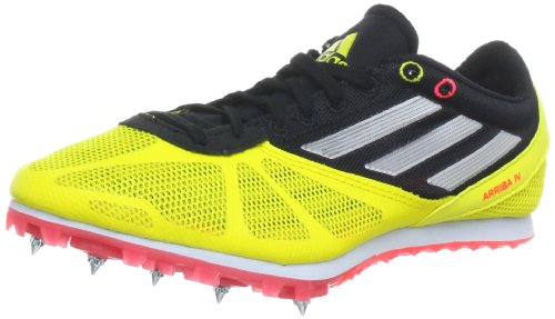 Adidas Performance Unisex - Adult Arriba 4 m Running Shoes Yellow Gelb (Vivid Yellow S13 / Metallic Silver / Pop) Size: 46 2/3