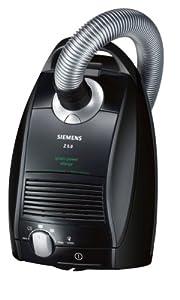 Siemens VSZ5GP1264 Bodenstaubsauger Z5.0 green power allergy/ inkl. XXL-Polsterdüse / Steckdose für Elektrobürste