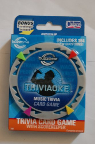 Cadaco Buzztime Triviaoke Music Trivia Card Game Series 1