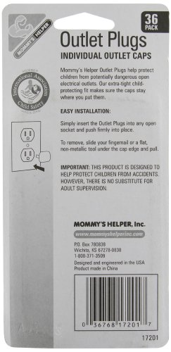 Mommy's Helper Outlet Plugs 36 Pack