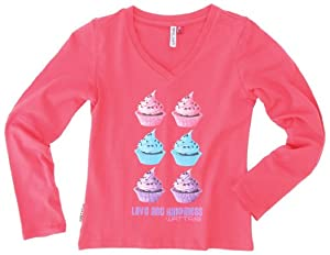 Watts Saad T-Shirt manches longues fille Rose Cancan 6 ans