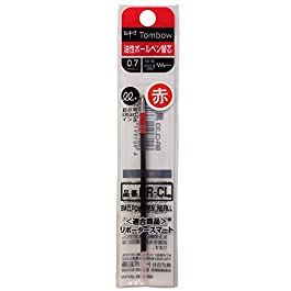 Tombow BR-CL25 Recharge pour Stylo-bille Rouge